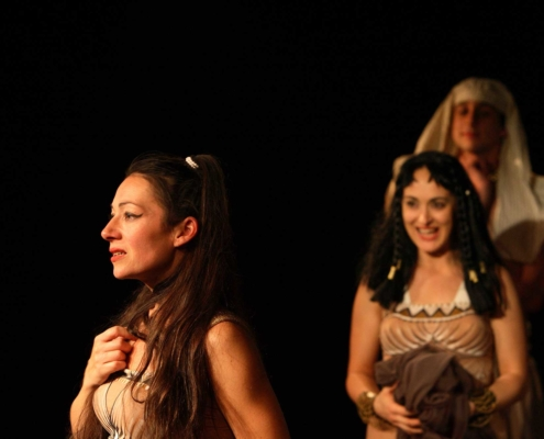 Antoine et Cléopâtre - Florence Tosi - Delphine Bariety & Joël Abadie