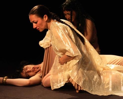 Antoine et Cléopâtre - Florence Tosi et Amandine Dufour et Delphine Bariety